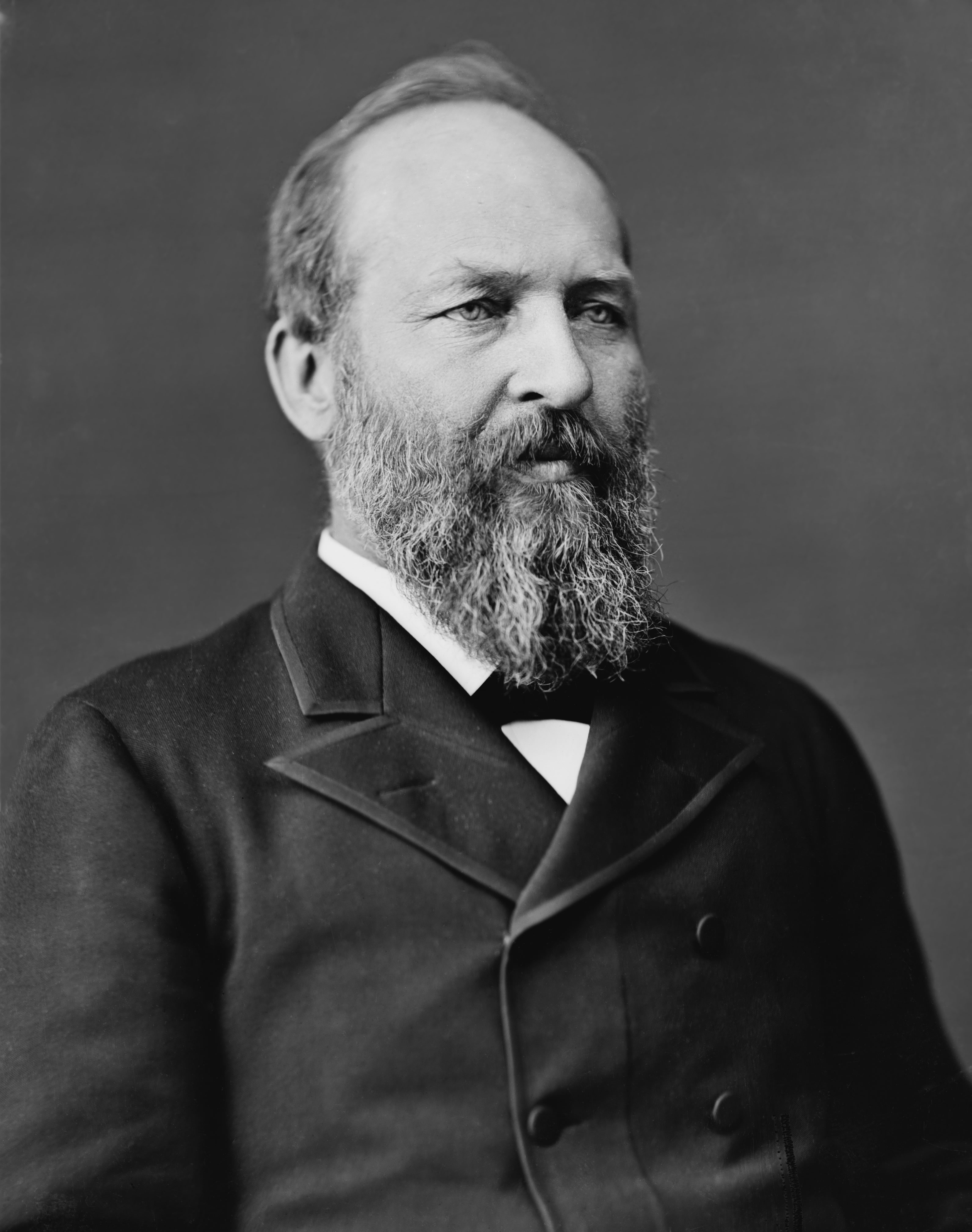 james garfield James a garfield was the twentieth president of the united states he served in 1881 he was born on november 19, 1831 in a one room log cabin in orange, ohio.