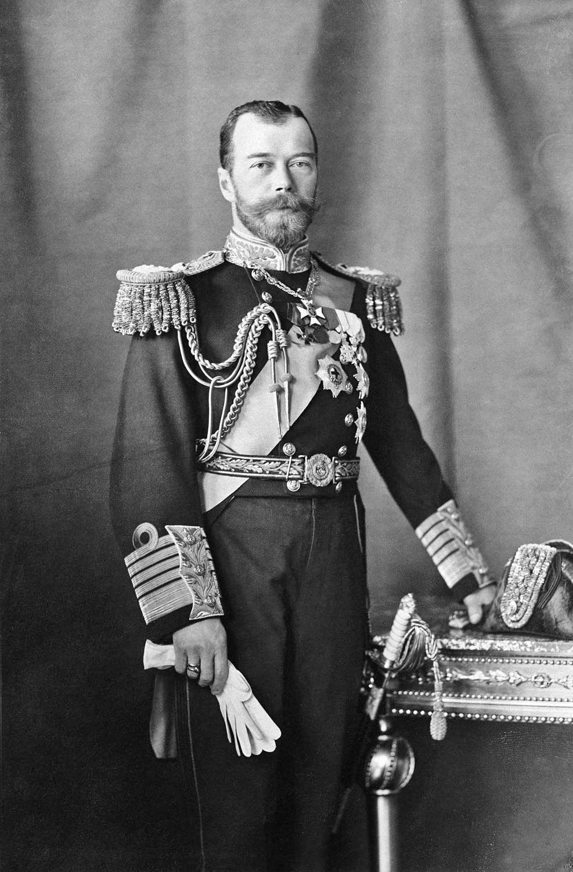 The emperor nikolai ii and children
