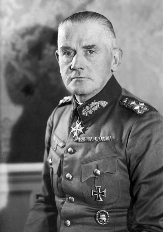 Вернер Эдуард Фриц фон Бломберг
